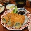 Pork Loin Katsu & Cabbage Roll Katsu Set