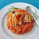 nasi goreng ayam 👍🏻 21.9.19 #foodporn #sgfoodporn #foodsg #sgfoodies #instafood #foodstagram #vscofood #burpple #hungrygowhere #hawkerfood #hawkercentre