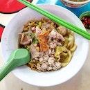 minced pork noodles 👍🏻 29.10.19 #foodporn #sgfoodporn #foodsg #sgfoodies #instafood #foodstagram #vscofood #burpple #hungrygowhere #hawkerfood #hawkercentre