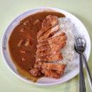 japanese curry rice w/ pork chop 👍🏻 1.12.19 #foodporn #sgfoodporn #foodsg #sgfoodies #instafood #foodstagram #vscofood #burpple #hungrygowhere #hawkerfood #hawkercentre