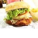 BK 9-in-1 Chicken Burger