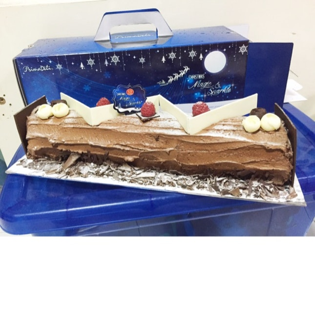 Truffle Log Cake