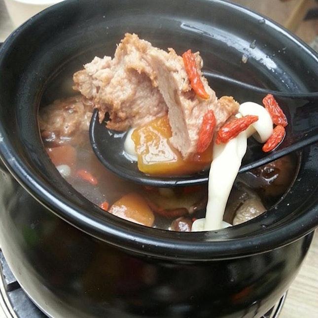 Huaishan Cordyceps Mushroom Soup