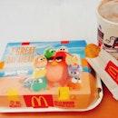 Grilled Mushroom Breakfast Platter Special