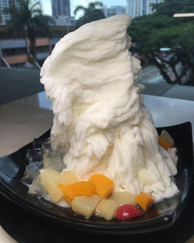 Almond Snow Ice