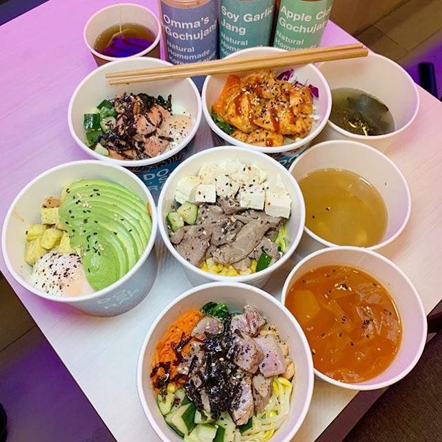 S$1 Mixed Rice 🍚 Bowl!