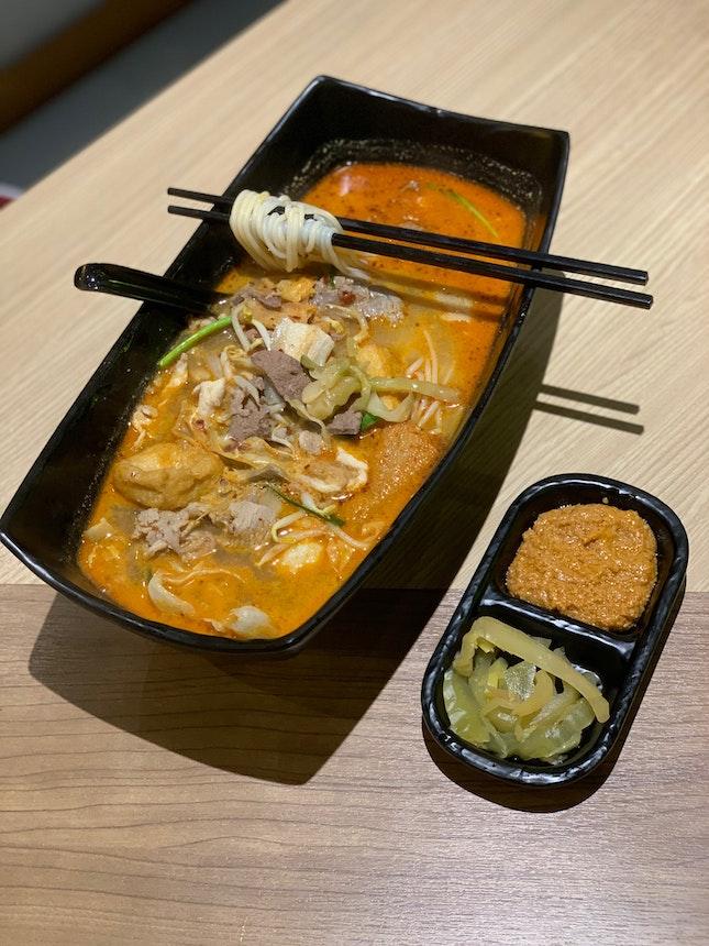 Huge Bowl Of Noodle