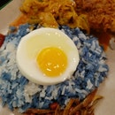 Blue Rice Nasi Lemak $5