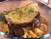 Seafood Guazetto, Garlic Croutons
