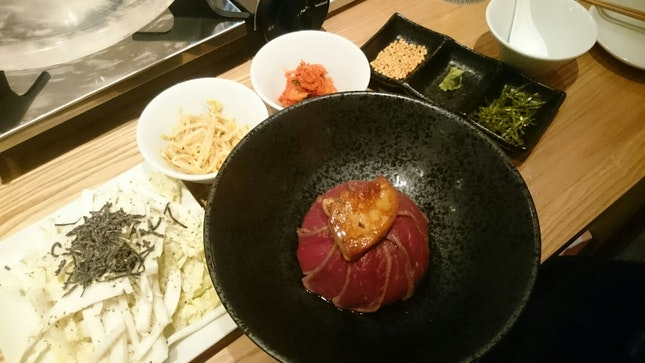 Grilled Beef And Beef Donburi!