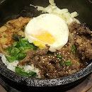 Dinner at one of my favourite Japanese restaurant😋I got the Beef Shabu shabu Hotpot Set & a Beef Bibimbap🙂 .