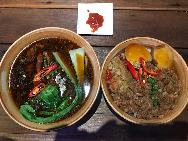 Beef Soup And Lu Rou Fan