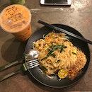 Pad Thai & Thai Tea @ $9.80