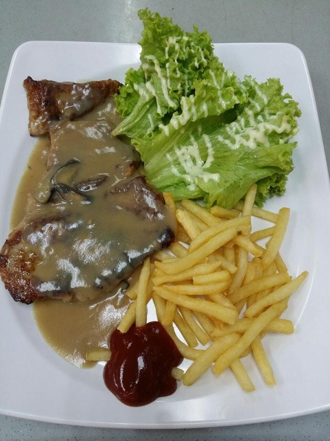 Grilled Pork Cutlet
