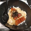 Grilled Eel With Scrambled Egg & Rice