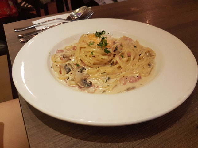 Linguina al Carbonara