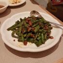 Stir-Fried French Bean With Minced Pork