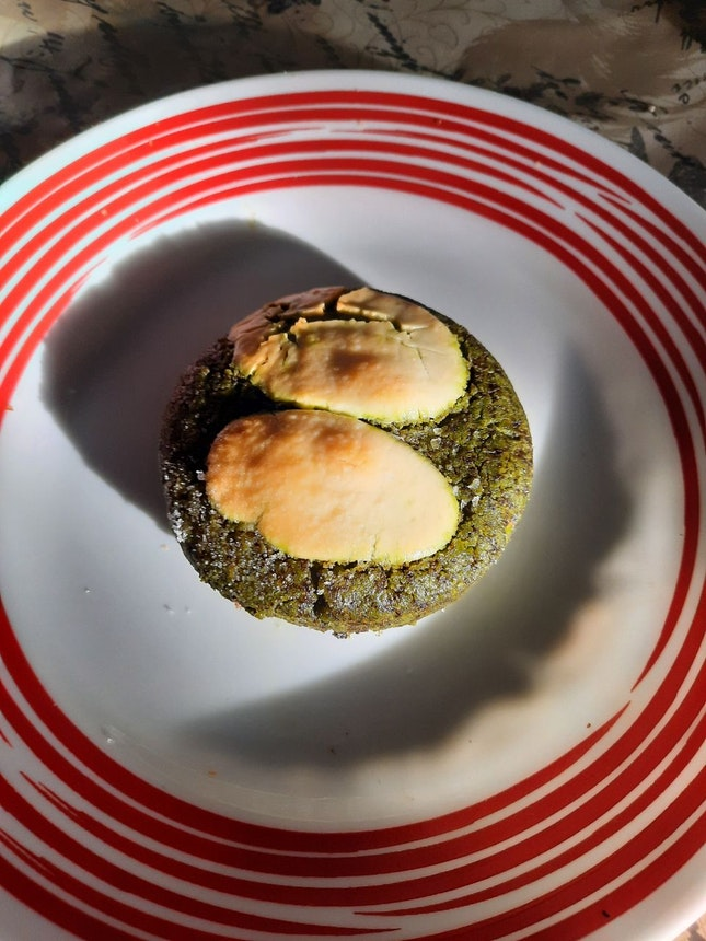 Matcha Macadamia Cookie