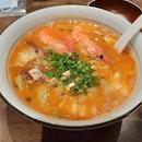 Big Prawn & Braised Pork with Shrimp 🦐 Ramen 🍜