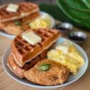 Savoury Waffle ($18)