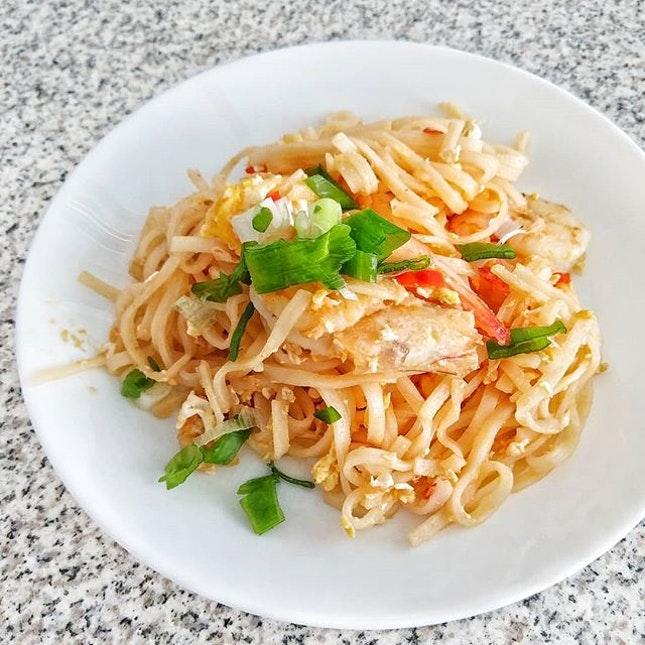 Taaadaaaa ✨ cooked Pad Thai for my lunch today!