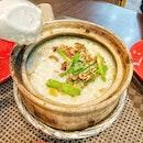 Frog porridge ($8) 🐸 their porridge are generally nubbad actually 😄 #muieats .