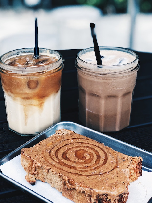 Nut Butter With Honey Toast