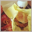 #jointhecrowd for #newlaunch #today #madnessqueue #sosingaporean #zhnged #saltedeggyolkchickenburger 🍔 #jiakkantang #saltnpeppercrabflavoured #twistnshakefries 🍟#sosedap #gulamelakamcflurry®withlayercakebites 🍦#dontsaybojio 🍌 #onlyinsingapore #confirmshiok #instafood #instadessert  #foodporn #foodlover #burpple #instalunch #junkfoodday #soshiok #macdonalds #mcdsg #felzfooddiary