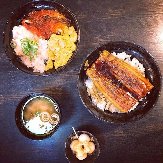 #taste #thefreshness of #generousserving #unagi #kaisendon #seafoodspecialty #oishi 🐟 #instafood #foodporn #foodlover #burpple #instalongweekend #instatravel #echizenwakasaya #wakasaya #越前若狹家 #kyoto #japan #felztravelfootprint2017 #osakakyotoday7 #jp #felzfooddiary