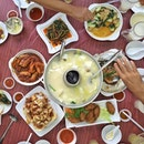 [bedok] fish head steamboat cze cha  dinner goals which cost so much less than our day binge.