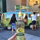 the spanking new somersby kombi van that will be roving around Singapore over the next couple months • catch it and get to try @somersbysg range of ciders • what a great start to the weekend