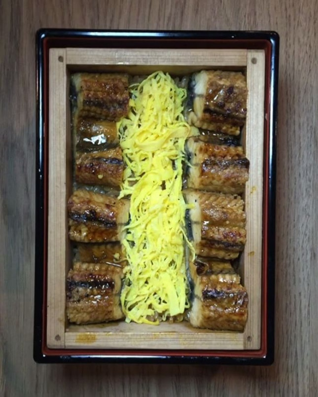 📍Japan foods garden [orchard] • steam eel, shredded egg • located at shaw centre's food republic.