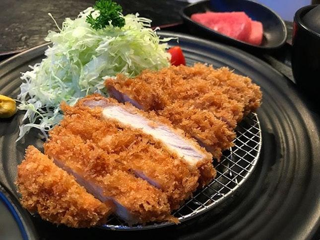 Tried the tonkatsu from @hajime_tonkatsu_ramen a few weeks ago and I have to say it's really not bad!
