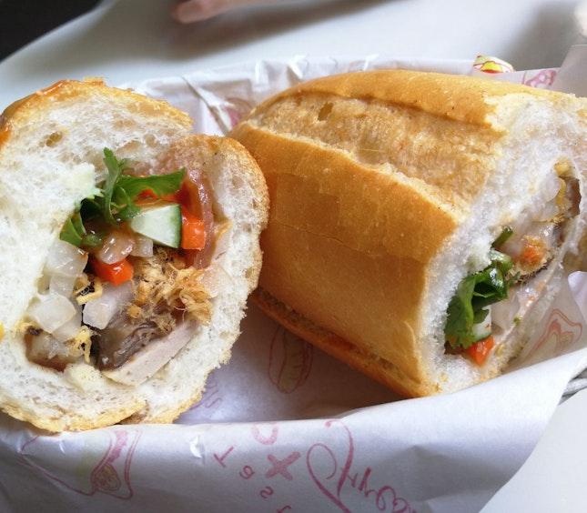 Fresh And Tasty Banh Mi