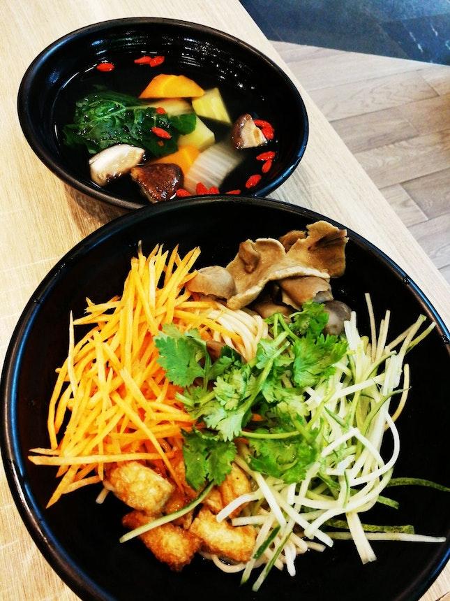 Shiitake Mushroom Sauce Noodles