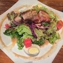 Signature Salad With Roasted Pork
