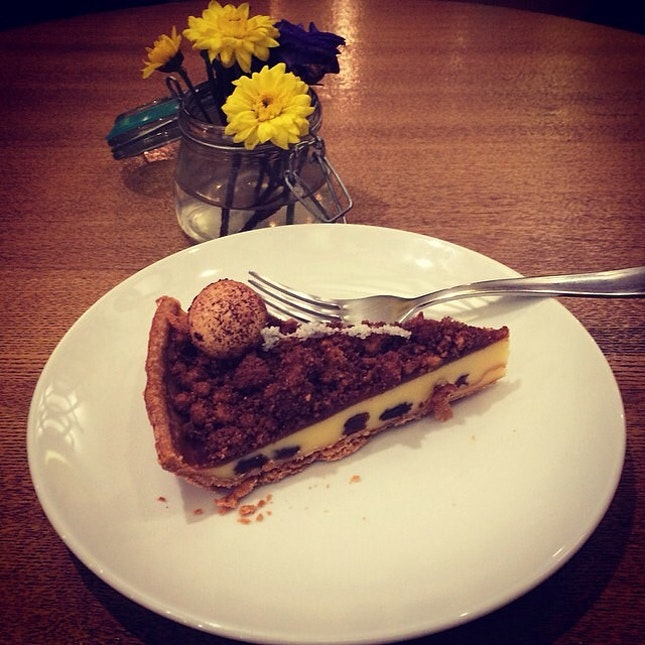 A slice of pie after lunch is always a good idea.