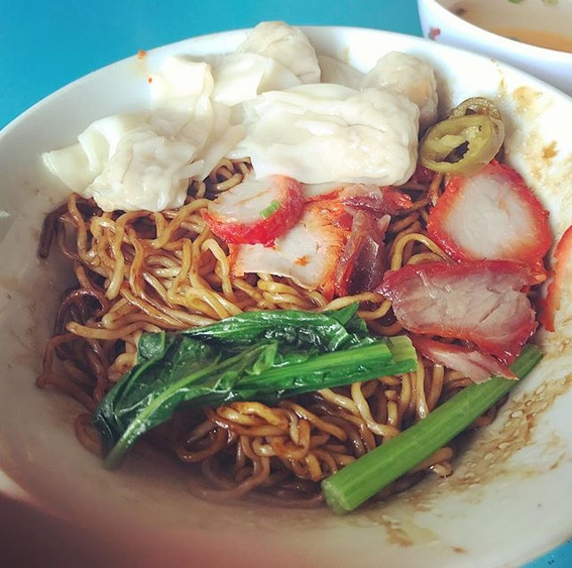 Wanton Mee [$3] I have high standards when it comes to the noodles.