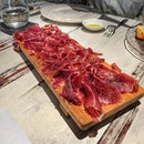 Jamón platter from yesterday's lunch at @gaigsingapore was phenomenal.