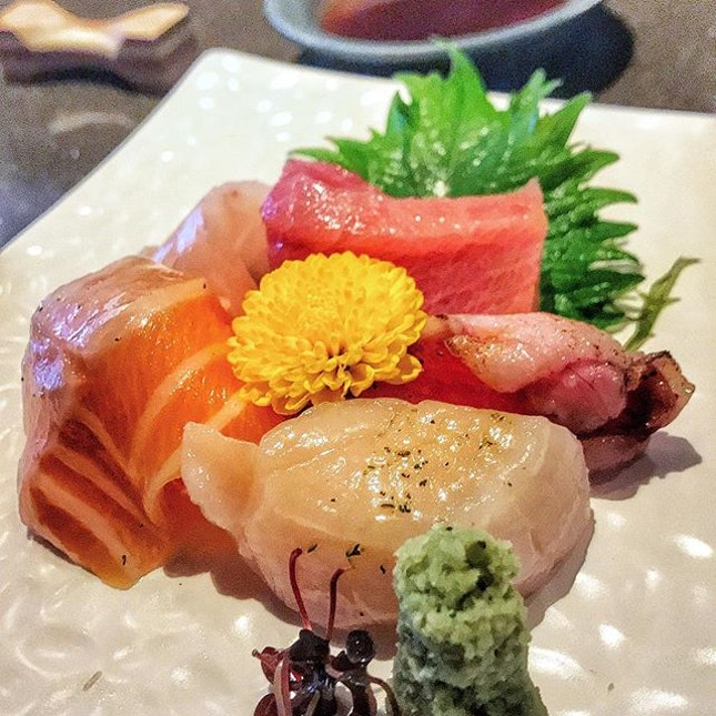 The sweetness of the fish here is ridiculous, and that scallop brings me back to Hokkaido.