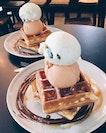 Double Waffles, Double Scoop