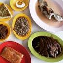 Economical Teochew Dishes @ Ye Shang Hai Teochew Porridge 夜上海潮洲粥, 55 Lengkok Bahru Road.