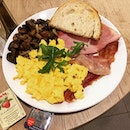 All-Day Breakfast Set @ Cedele Bakery Cafe, United Square #B1-35/36.