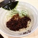 ❤️ the Beijing Minced Meat & Mushroom Sauce Ramen (Dry) 北京炸酱拉面 (干) @ Supreme Ramen Xiao Long Bao 至尊拉面小龙包 Blk 46 Holland Drive #01-359.