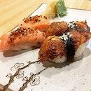 Aburi Shake & Aburi Unagi At Sushi Goshin @ VivoCity, 1 Harbourfront Walk #B2-28.