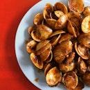 Sambal Lala (Clams) @ B.B.Q Seafood, Taman Jurong Market and Food Centre #03-178.