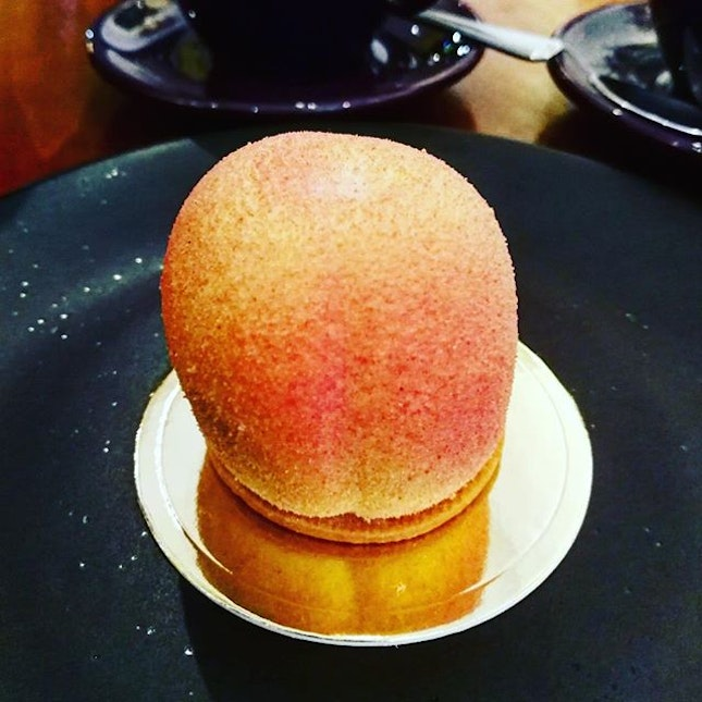 Peach or not to peach, that is the question.