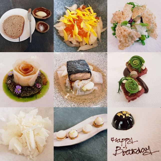 Overhyped? 5course lunch $135++ each