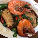Seafood with Basil Leaf ($9.90)