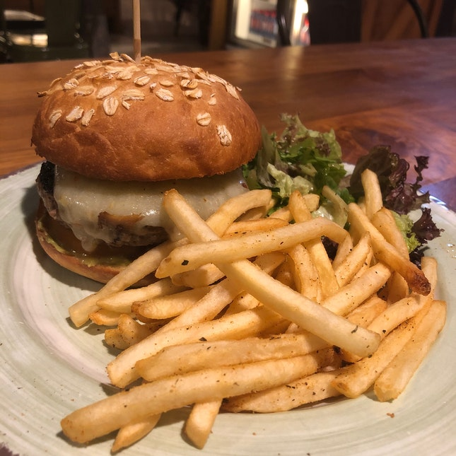 The Mexican Burger ($15)